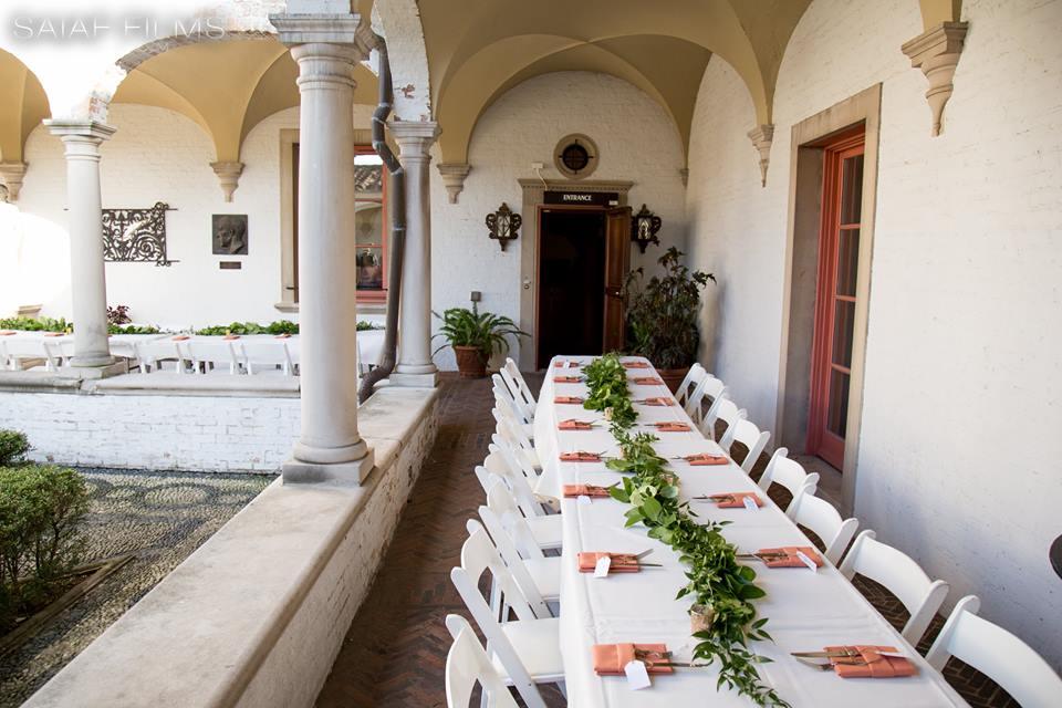 romantic wedding tables