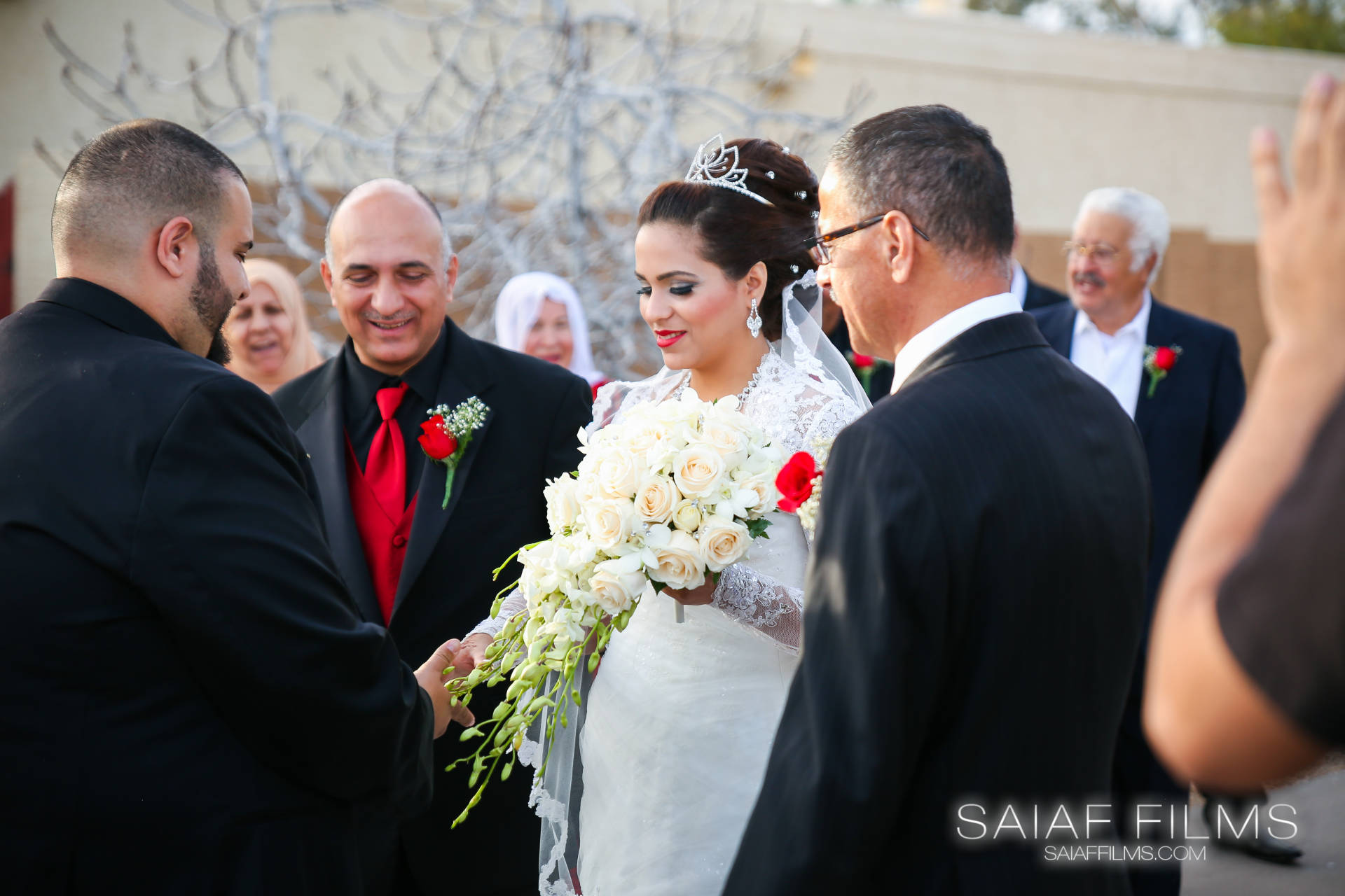 Palestinian wedding